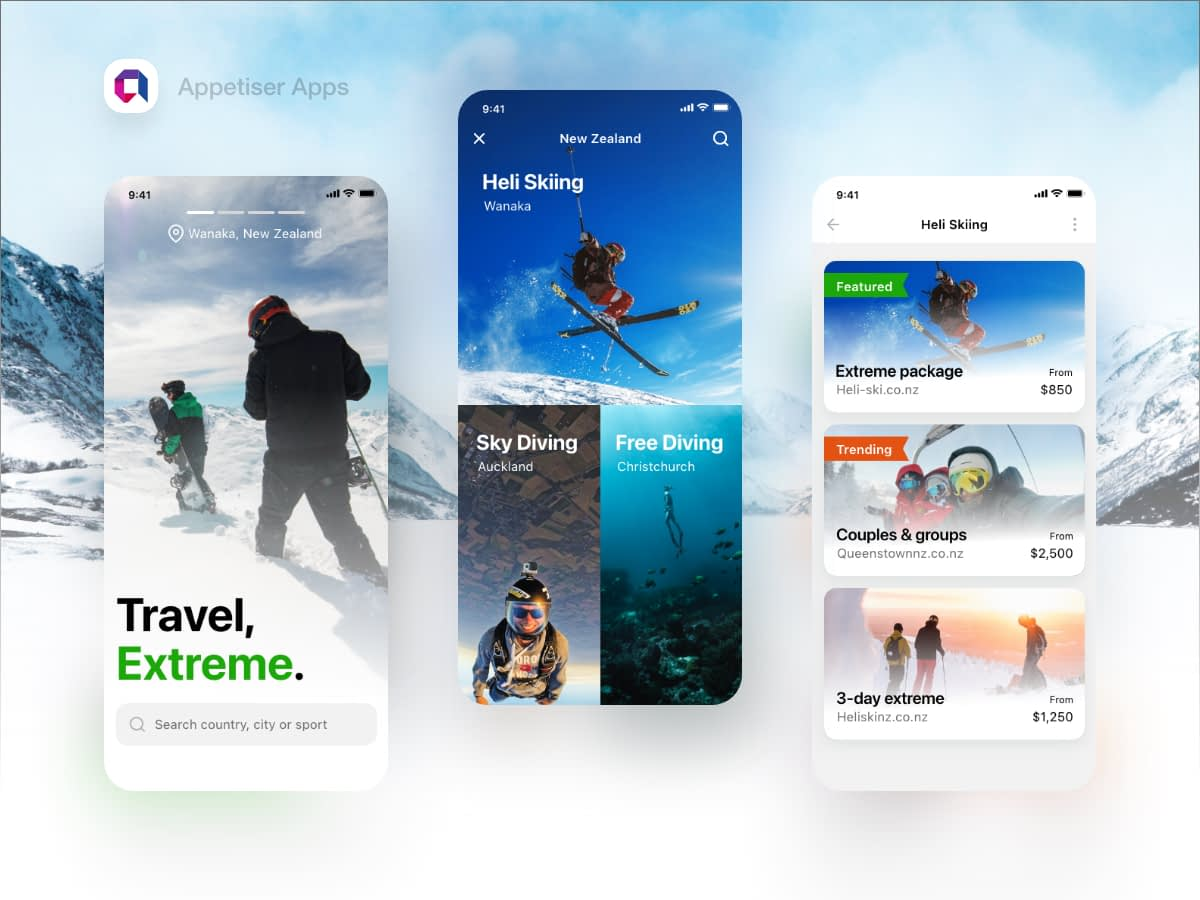 Extreme Travel App Free Download