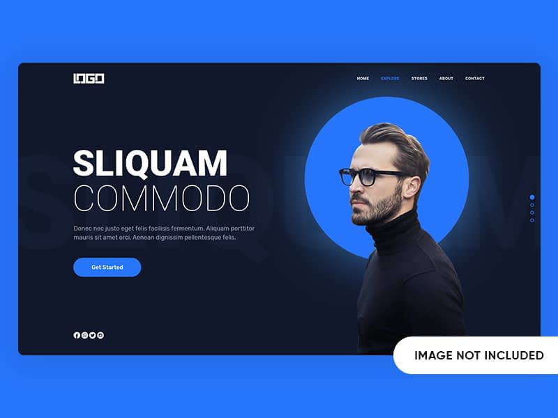 Creative Freelancer Landing Page