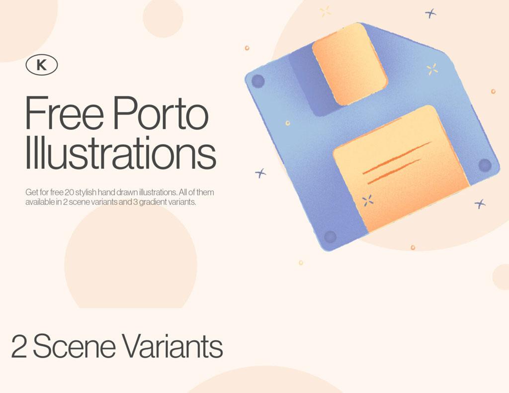 Porto Free Illustrations