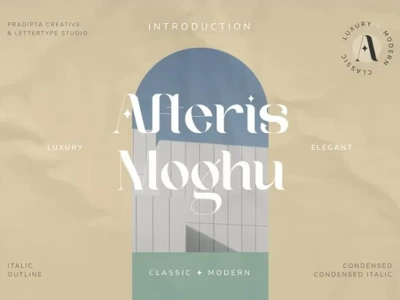Afteris Moghu Font