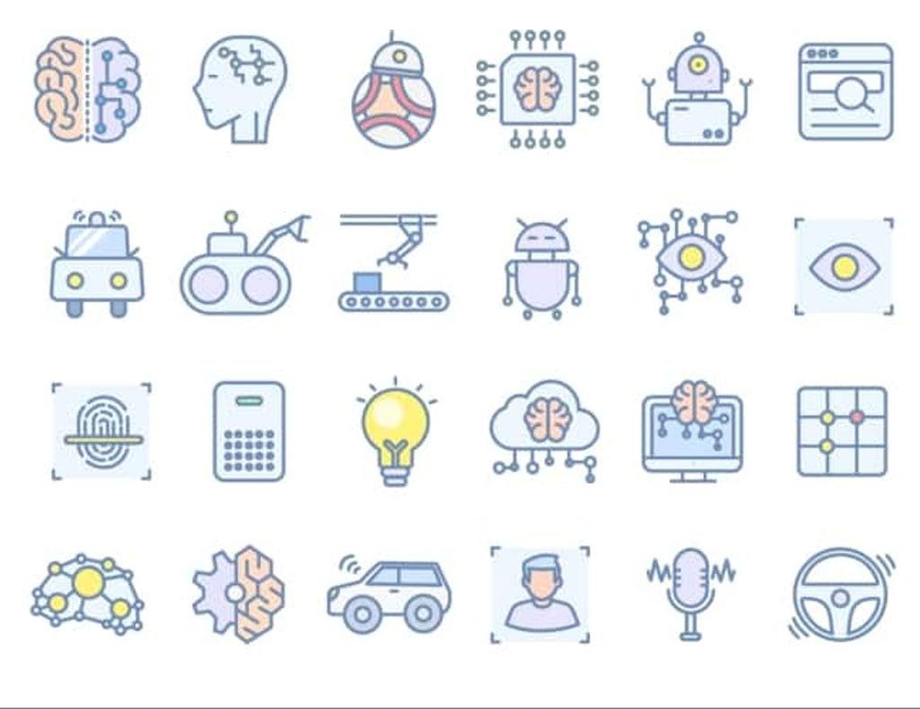 AI Free Icon Set by Xiaojianj