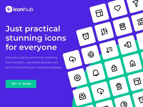 Free and fully customized beautiful icons
