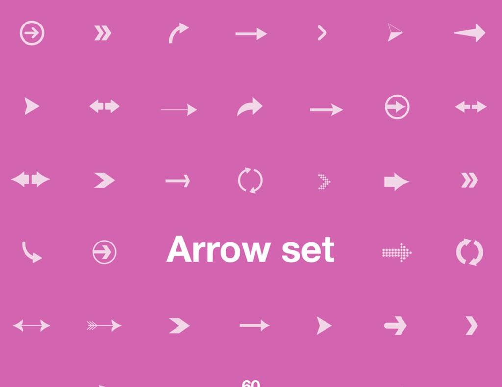 Arrow Set – 60 Vector Elements